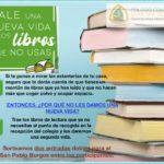 Campaña de donación de libros de lectura.